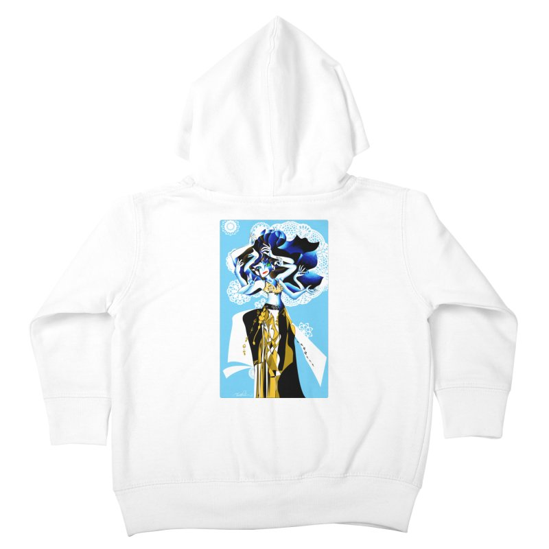 Dancer Kids Toddler Zip-Up Hoody by Todd Powelson's Artist Shop