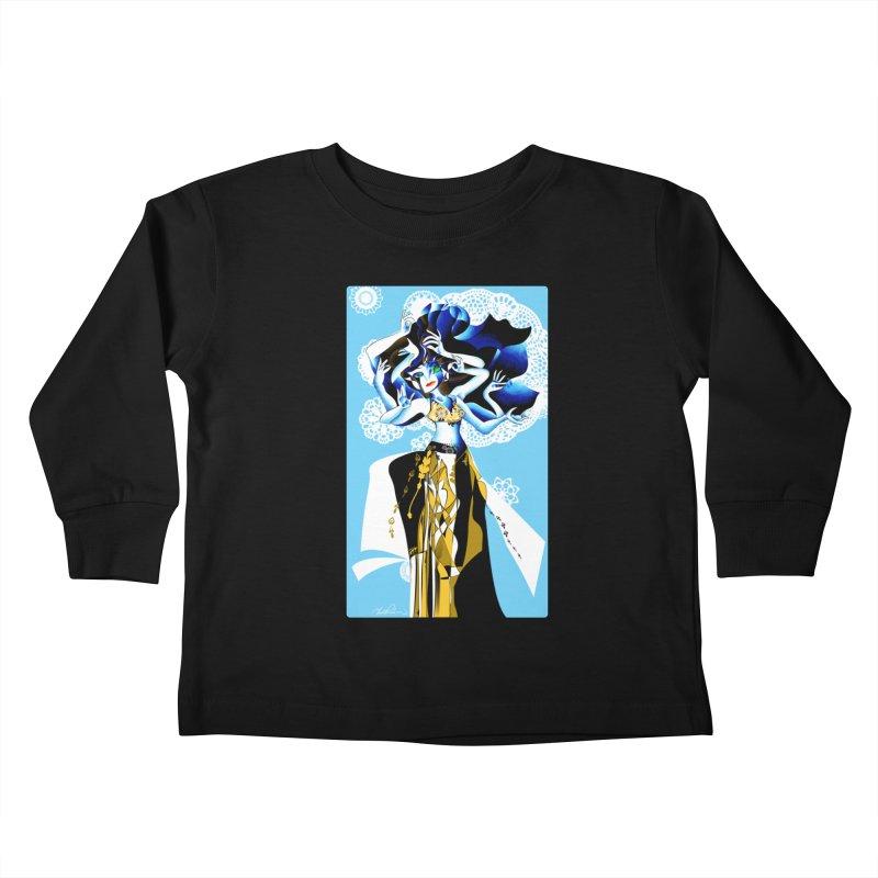 Dancer Kids Toddler Longsleeve T-Shirt by Todd Powelson's Artist Shop