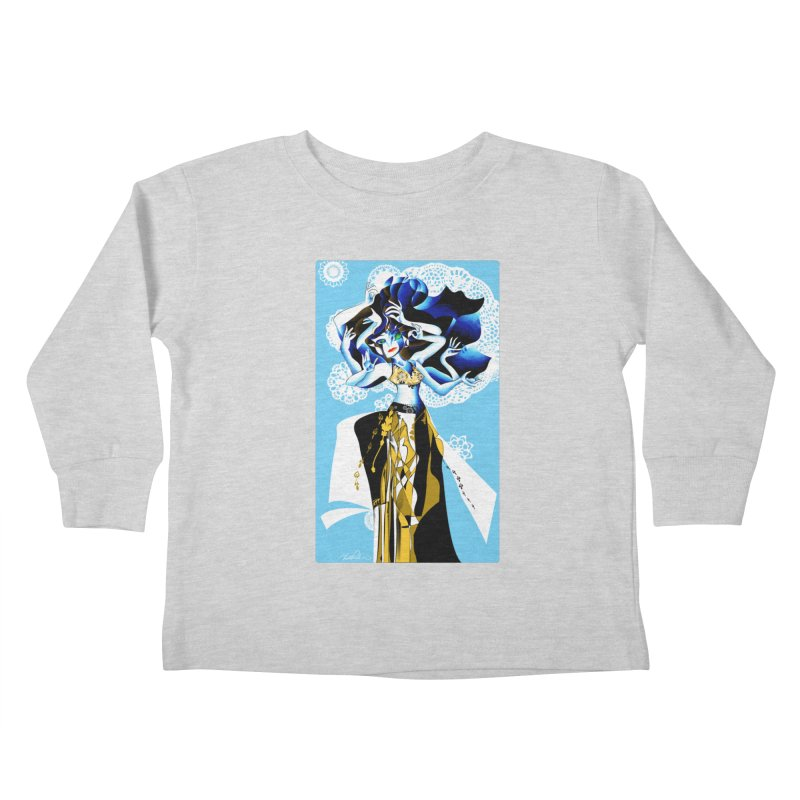 Dancer Kids Toddler Longsleeve T-Shirt by Todd Powelson's Artist Shop