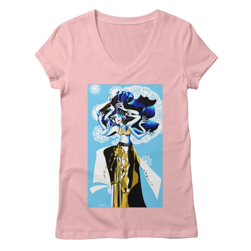 Dancer Women's V-Neck by Todd Powelson's Artist Shop