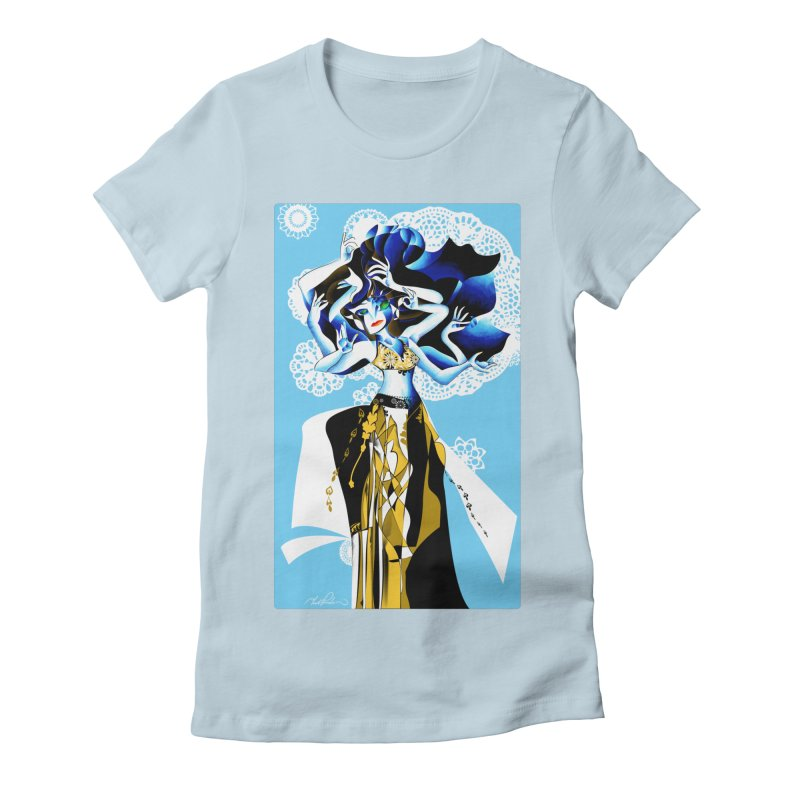 Dancer Women's Fitted T-Shirt by Todd Powelson's Artist Shop