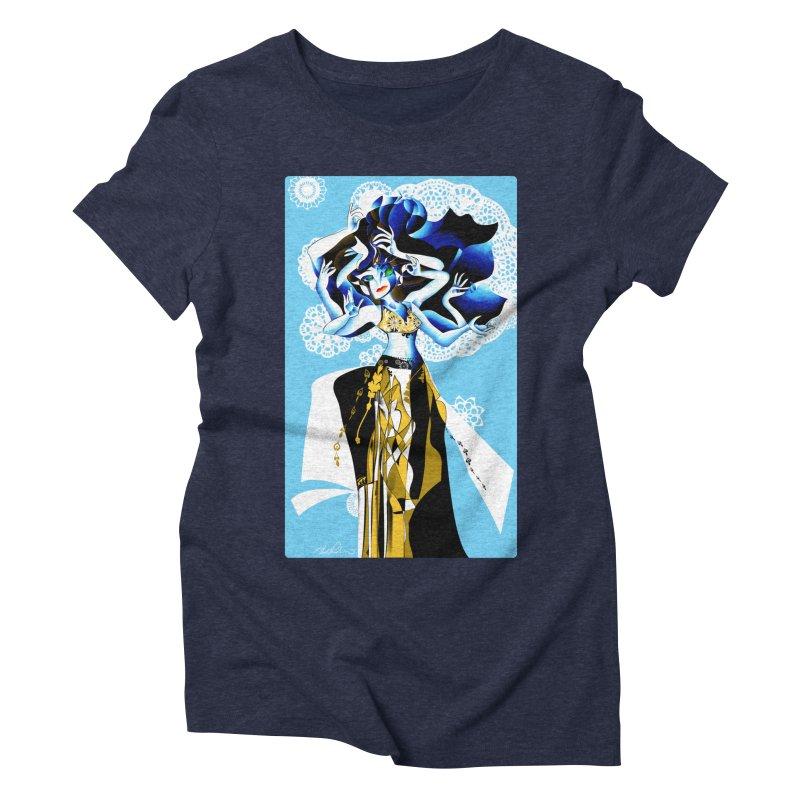 Dancer Women's Triblend T-shirt by Todd Powelson's Artist Shop