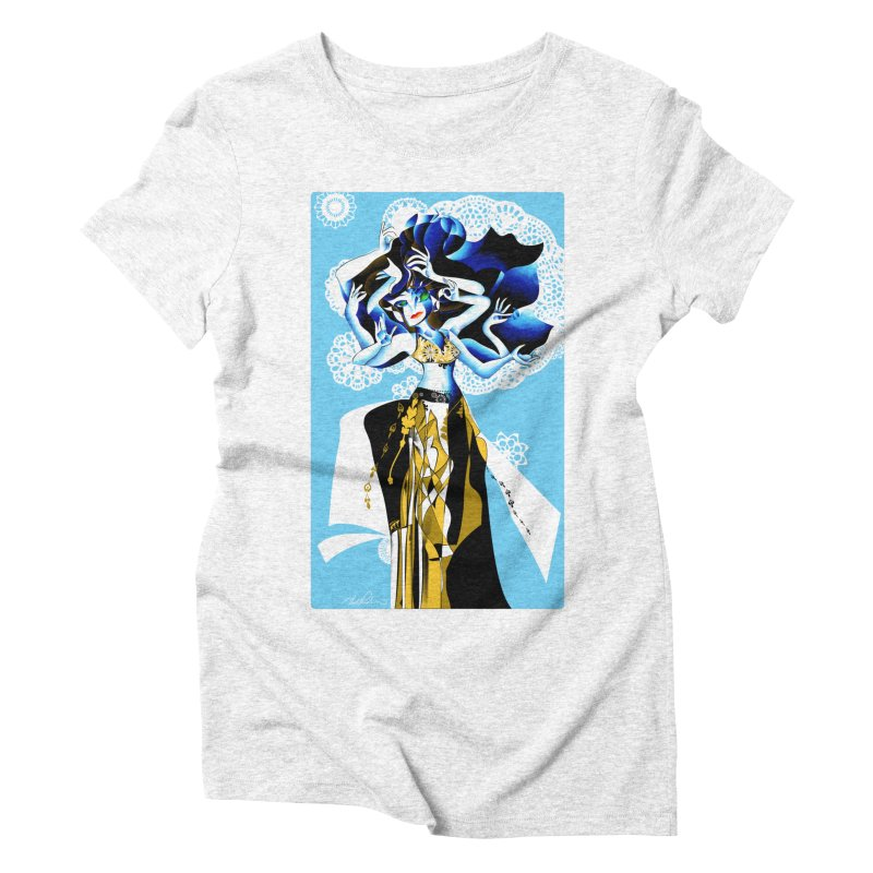 Dancer Women's Triblend T-shirt by Todd Powelson's Artist Shop