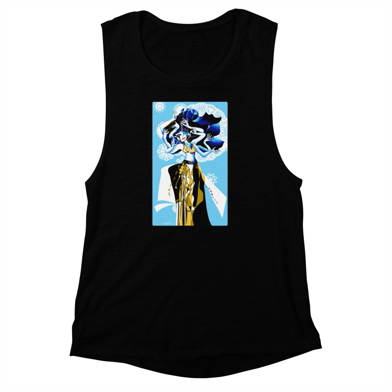Dancer Women's Muscle Tank by Todd Powelson's Artist Shop