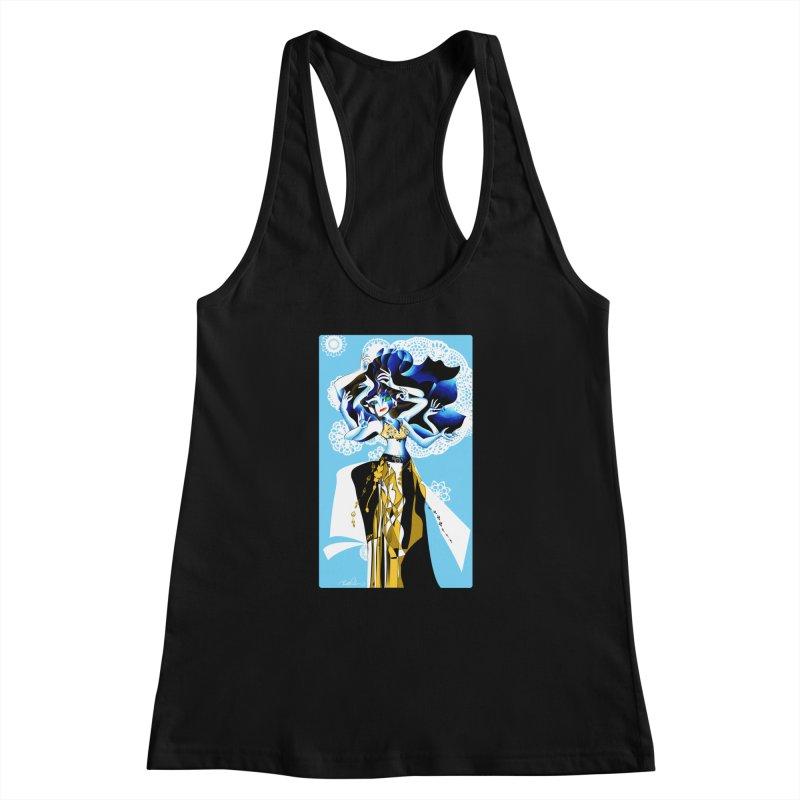 Dancer Women's Racerback Tank by Todd Powelson's Artist Shop