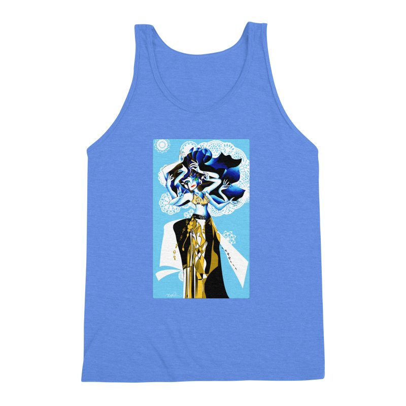 Dancer Men's Triblend Tank by Todd Powelson's Artist Shop