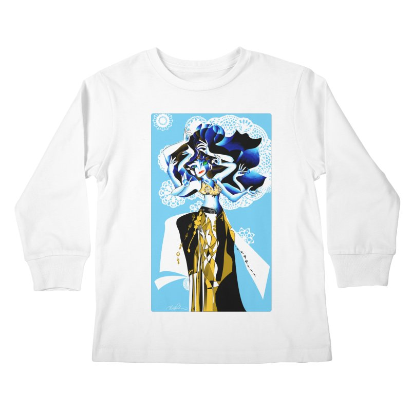 Dancer Kids Longsleeve T-Shirt by Todd Powelson's Artist Shop
