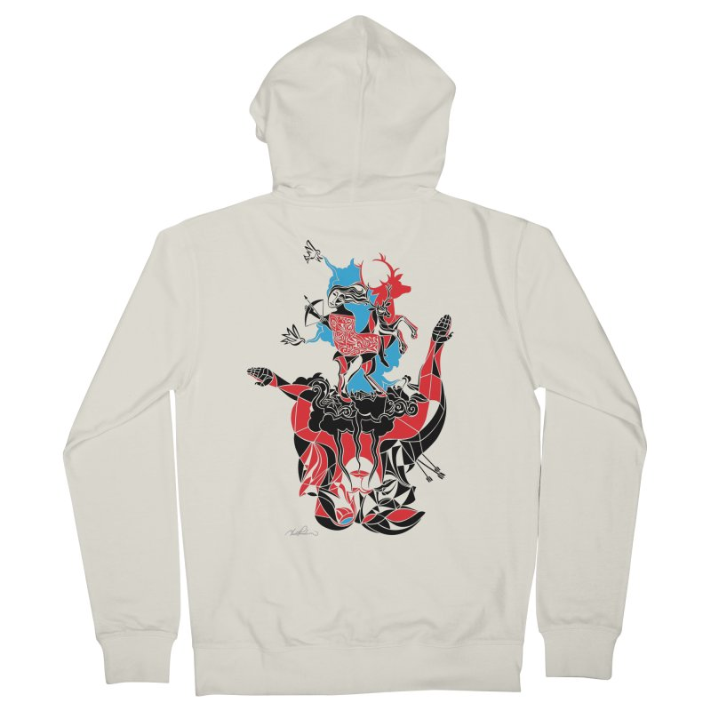 About Love Women's Zip-Up Hoody by Todd Powelson's Artist Shop