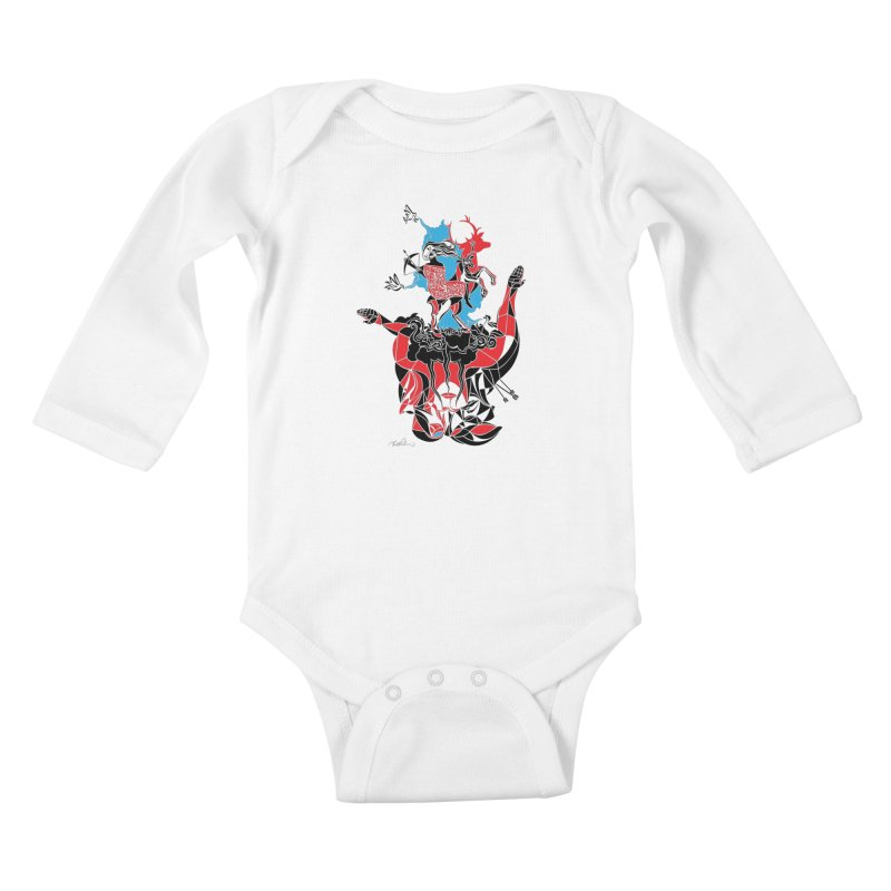 About Love Kids Baby Longsleeve Bodysuit by Todd Powelson's Artist Shop