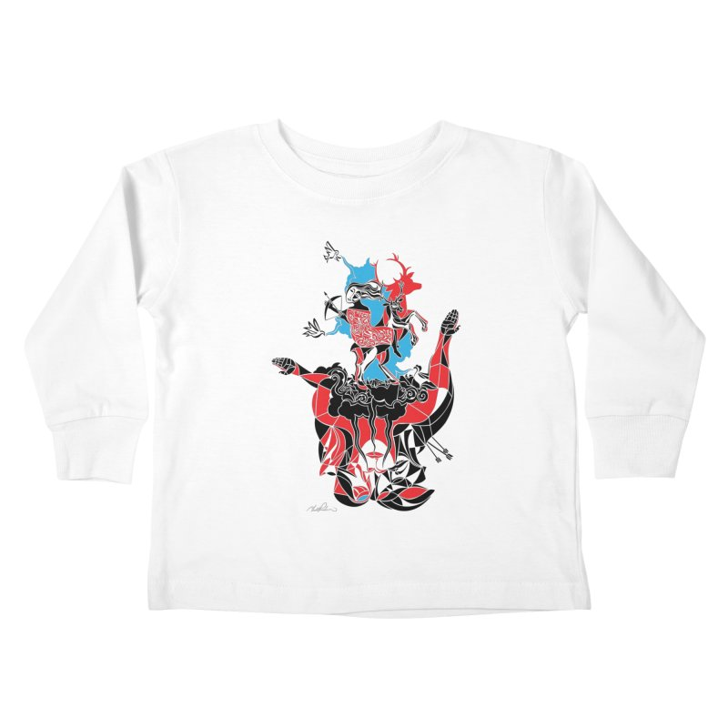 About Love Kids Toddler Longsleeve T-Shirt by Todd Powelson's Artist Shop