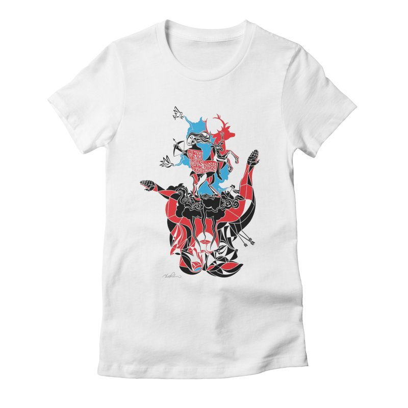 About Love Women's Fitted T-Shirt by Todd Powelson's Artist Shop