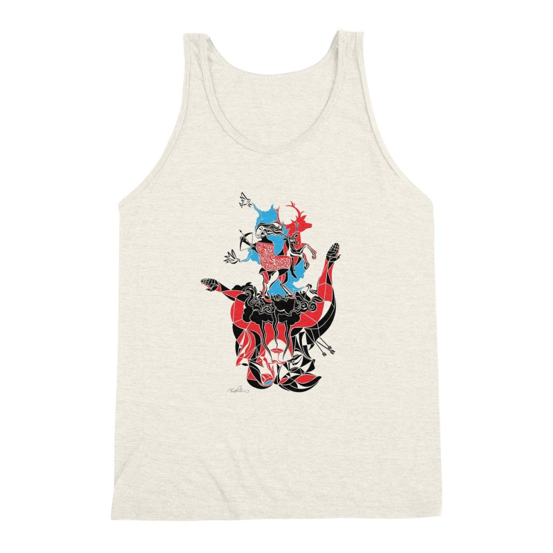About Love Men's Triblend Tank by Todd Powelson's Artist Shop