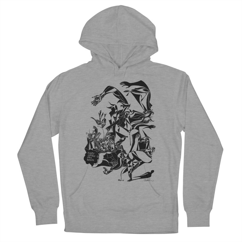 Every Surface Will Break Men's Pullover Hoody by Todd Powelson's Artist Shop