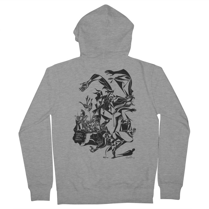 Every Surface Will Break Women's Zip-Up Hoody by Todd Powelson's Artist Shop
