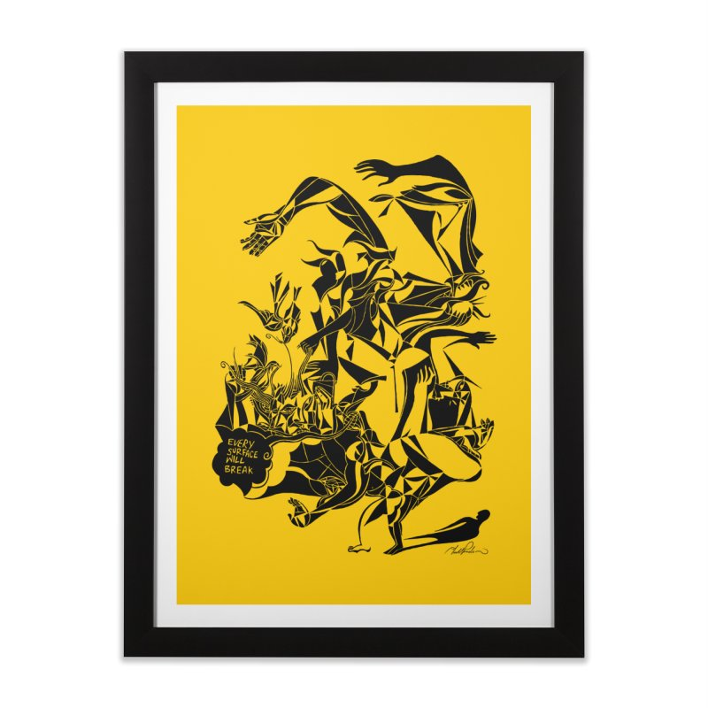 Every Surface Will Break Home Framed Fine Art Print by Todd Powelson's Artist Shop