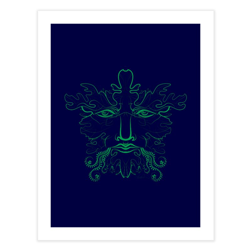 Green Man Home Fine Art Print by Todd Powelson's Artist Shop
