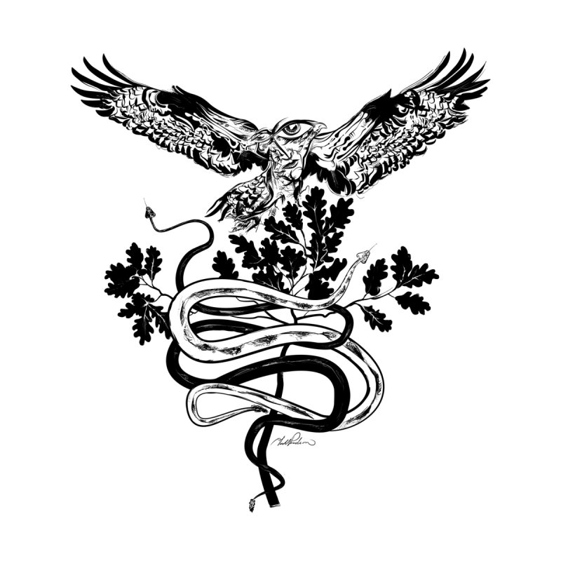 Western Caduceus by Todd Powelson's Artist Shop
