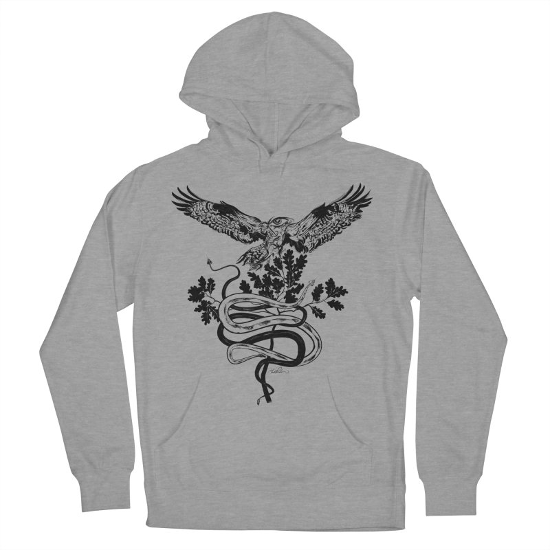 Western Caduceus Women's Pullover Hoody by Todd Powelson's Artist Shop