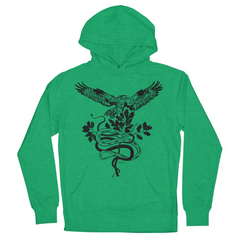 Western Caduceus Men's Pullover Hoody by Todd Powelson's Artist Shop