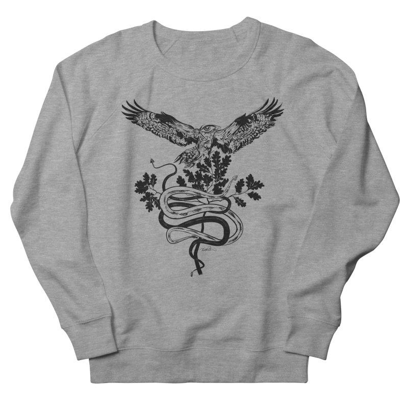 Western Caduceus Men's Sweatshirt by Todd Powelson's Artist Shop