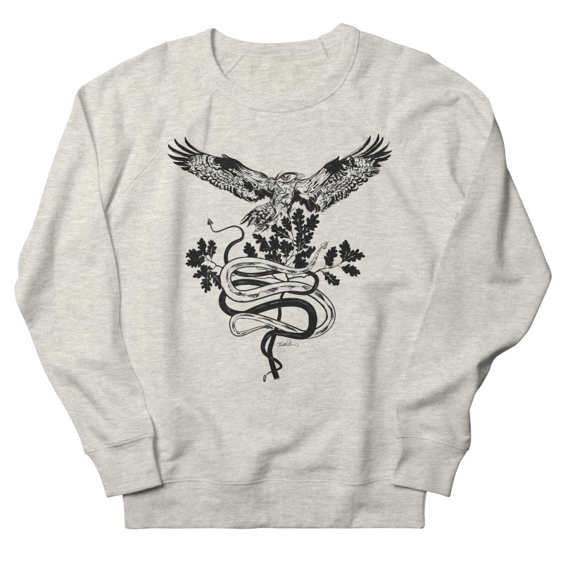 Western Caduceus Men's Sweatshirt by Todd Powelson's Artist Shop