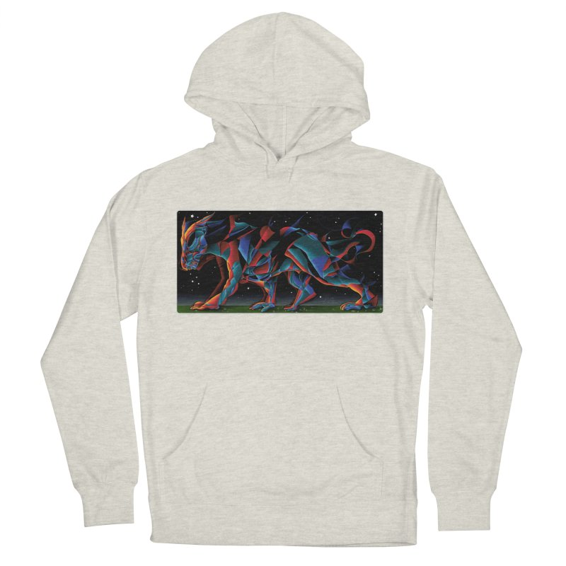 The Dragon Walks The Earth Women's Pullover Hoody by Todd Powelson's Artist Shop