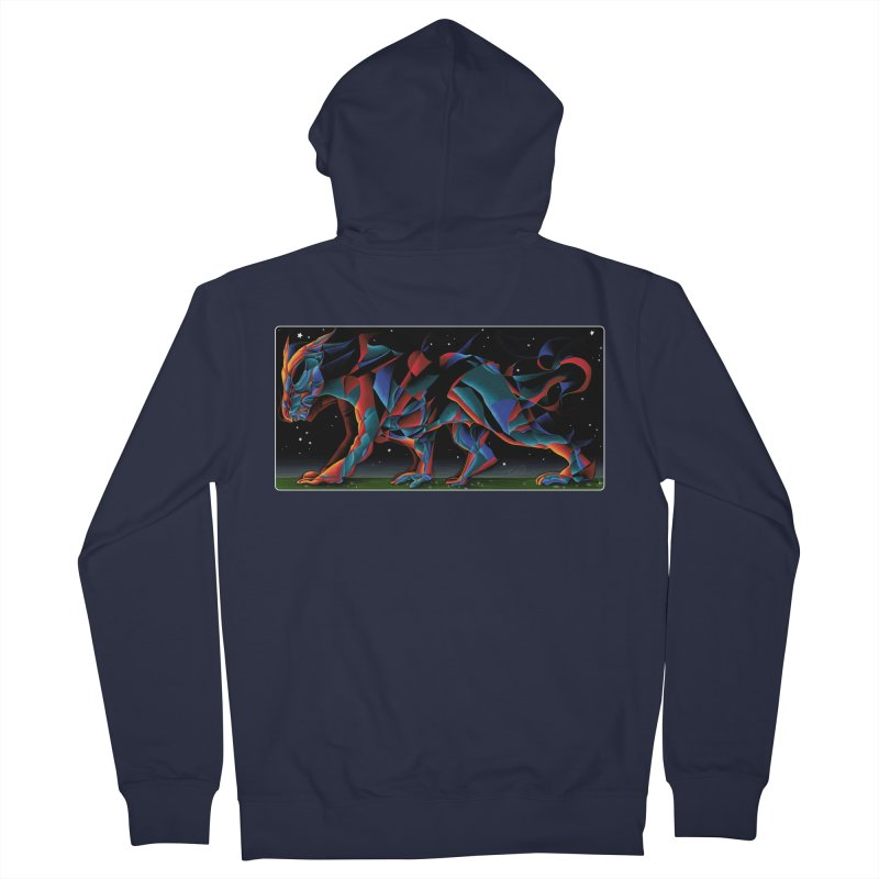 The Dragon Walks The Earth Women's Zip-Up Hoody by Todd Powelson's Artist Shop