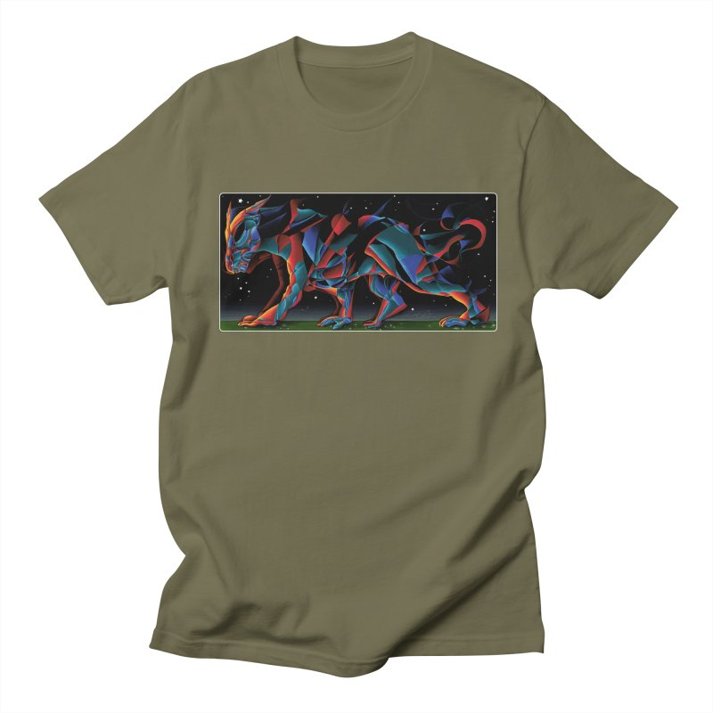 The Dragon Walks The Earth Men's T-Shirt by Todd Powelson's Artist Shop
