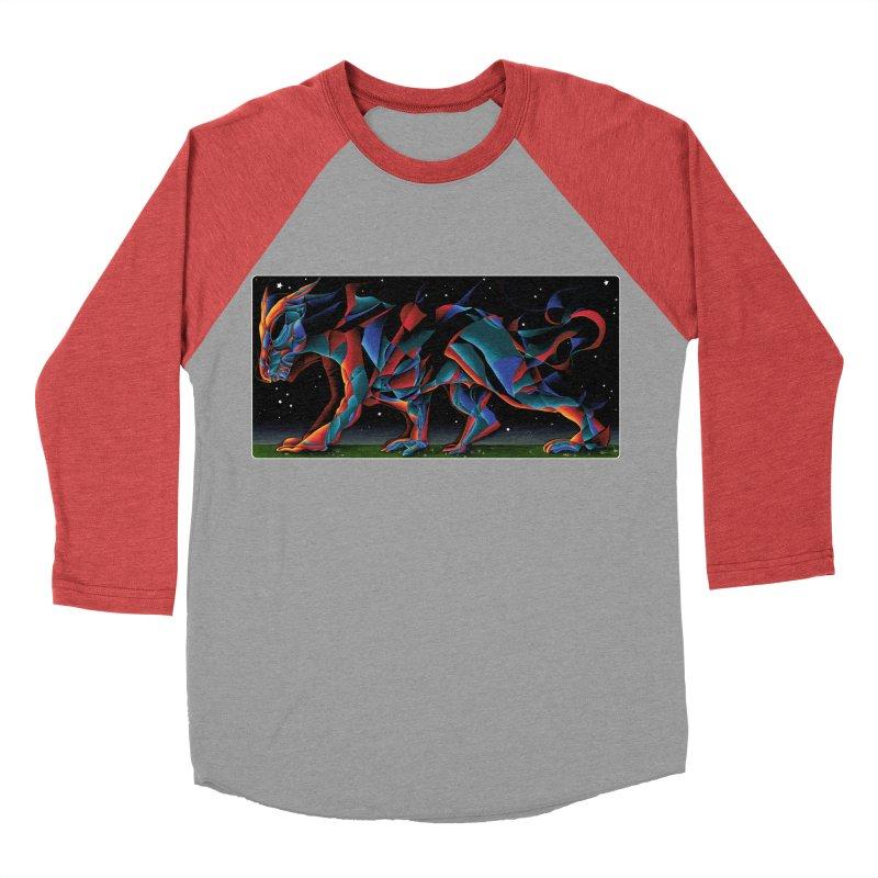 The Dragon Walks The Earth Women's Baseball Triblend T-Shirt by Todd Powelson's Artist Shop