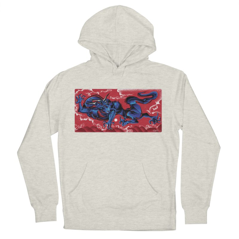 Dragon Men's Pullover Hoody by Todd Powelson's Artist Shop