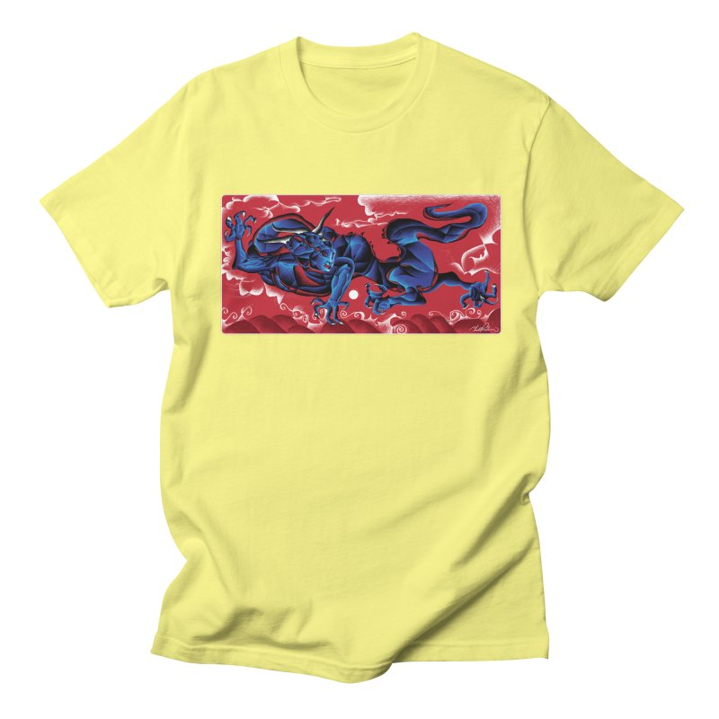 Dragon Men's T-shirt by Todd Powelson's Artist Shop