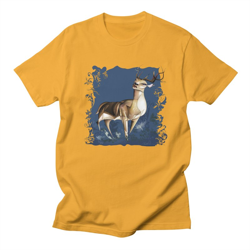 Deer Men's T-Shirt by Todd Powelson's Artist Shop