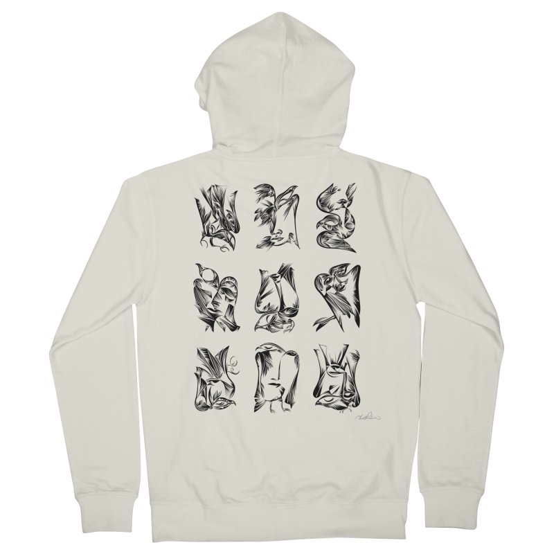 Blackbirds & Spirit Men's Zip-Up Hoody by Todd Powelson's Artist Shop