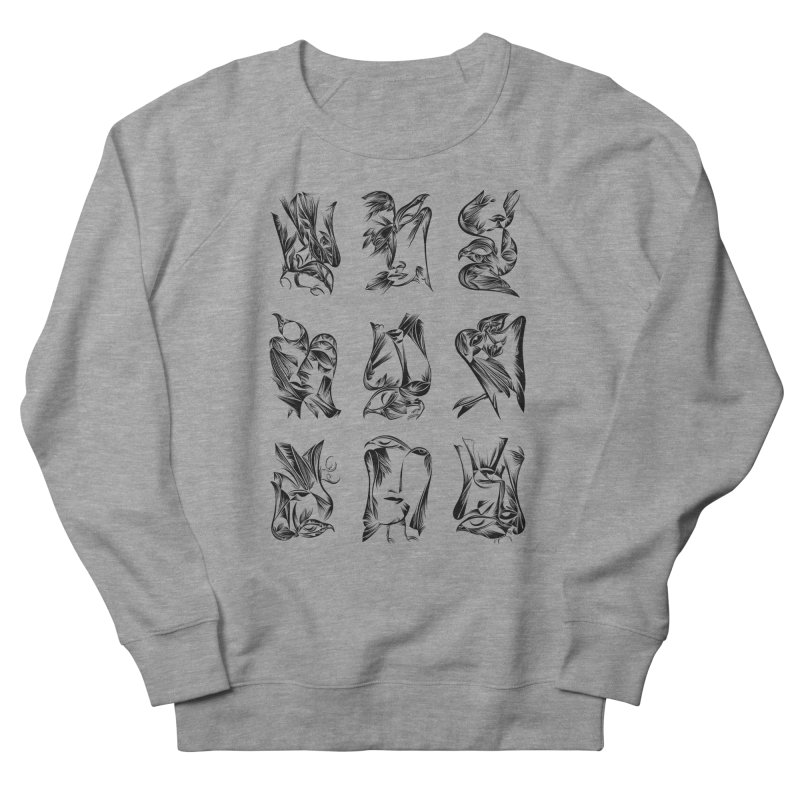 Blackbirds & Spirit Men's Sweatshirt by Todd Powelson's Artist Shop