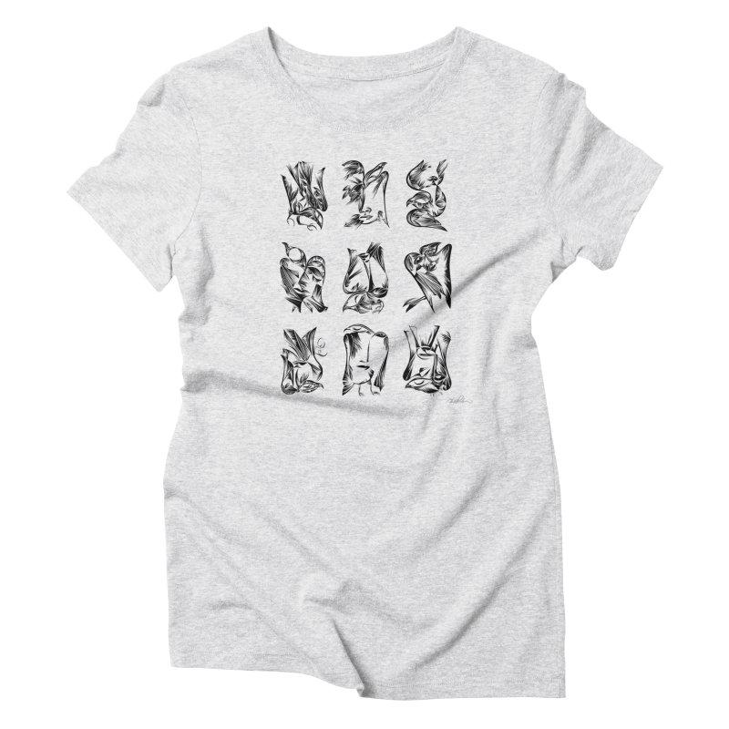 Blackbirds & Spirit Women's Triblend T-Shirt by Todd Powelson's Artist Shop