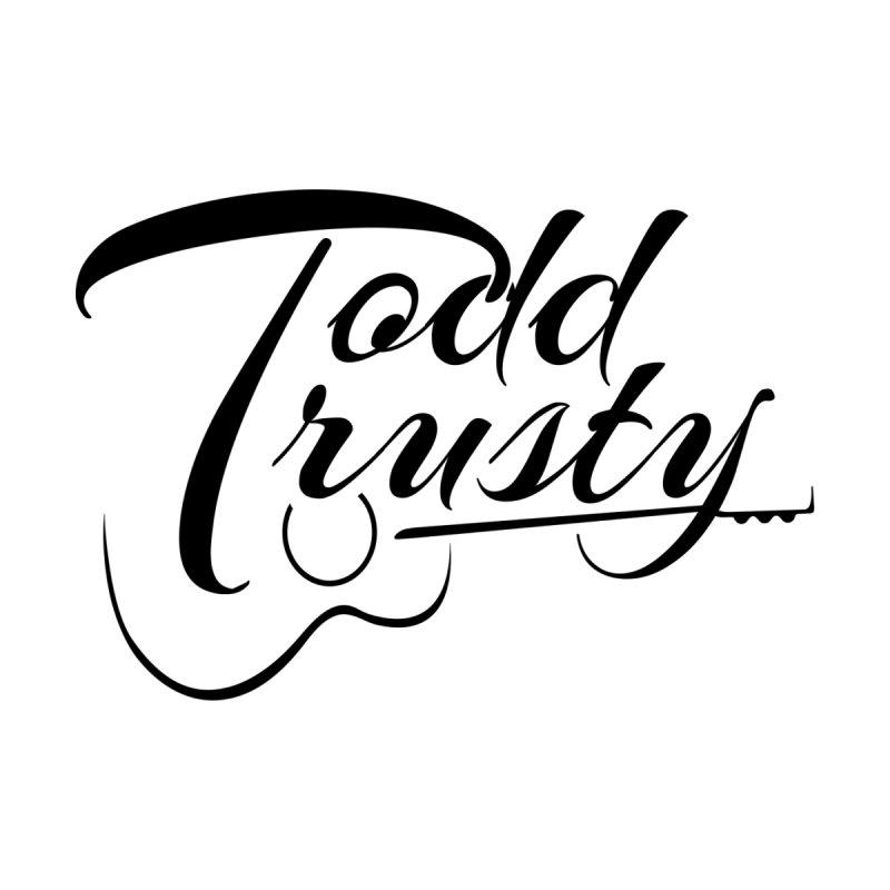 Black Logo Men's Longsleeve T-Shirt by Todd Trusty Music's Artist Shop