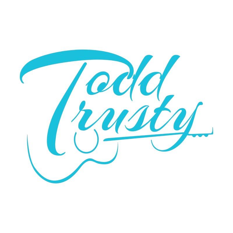 Caribbean Blue Logo Men's T-Shirt by Todd Trusty Music's Artist Shop