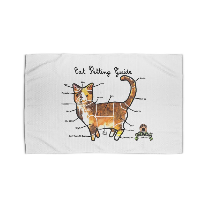 Cat Petting Guide Home Rug by Toe Beans Cat Cafe Online Shop