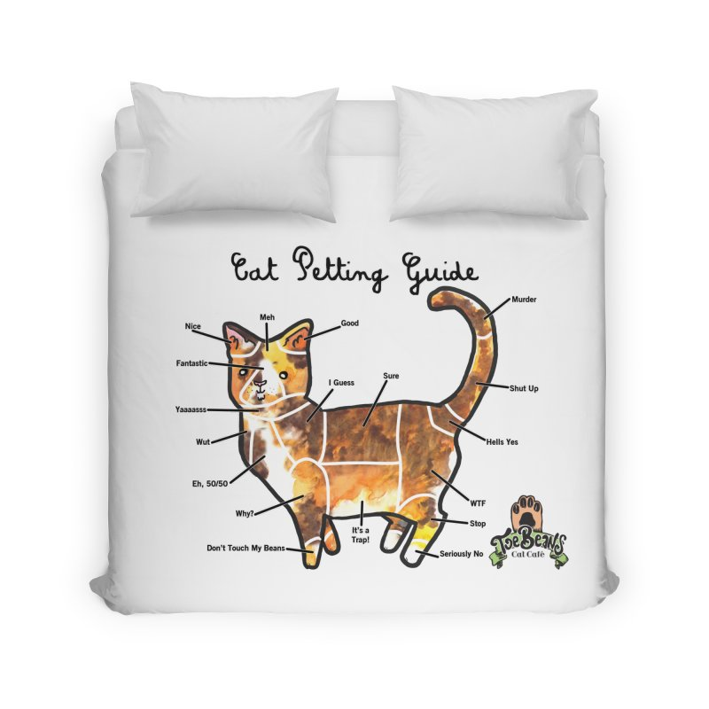 Cat Petting Guide Home Duvet by Toe Beans Cat Cafe Online Shop