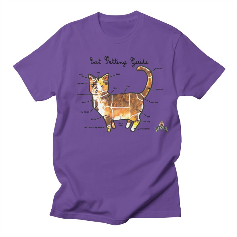 Toe Beans Cat Petting Guide Women's Unisex T-Shirt by Toe Beans Cat Cafe Online Shop