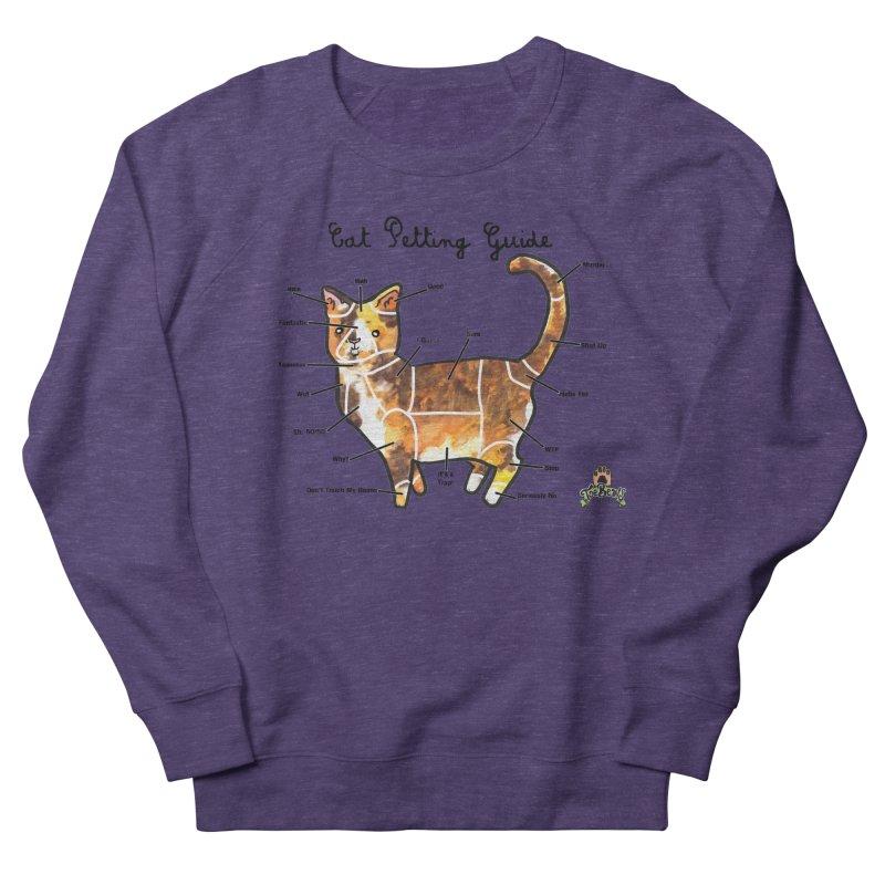 Toe Beans Cat Petting Guide Women's Sweatshirt by Toe Beans Cat Cafe Online Shop