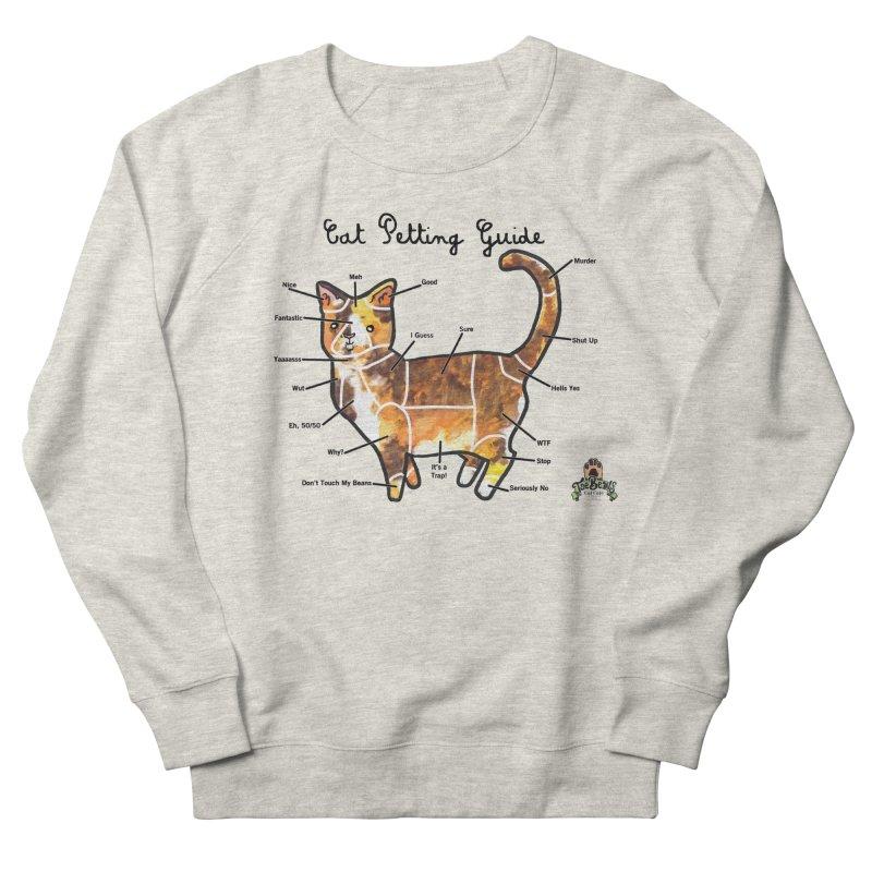 Toe Beans Cat Petting Guide Men's Sweatshirt by Toe Beans Cat Cafe Online Shop