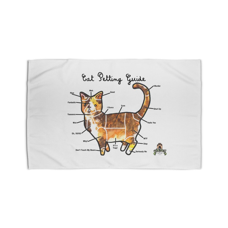 Toe Beans Cat Petting Guide Home Rug by Toe Beans Cat Cafe Online Shop