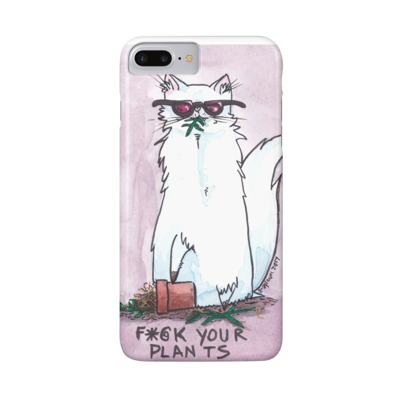 F*@ck Your Plants Accessories Phone Case by Toe Beans Cat Cafe Online Shop