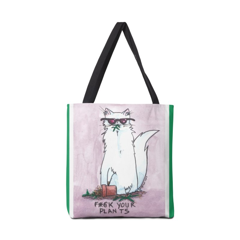 F*@ck Your Plants Accessories Tote Bag Bag by Toe Beans Cat Cafe Online Shop