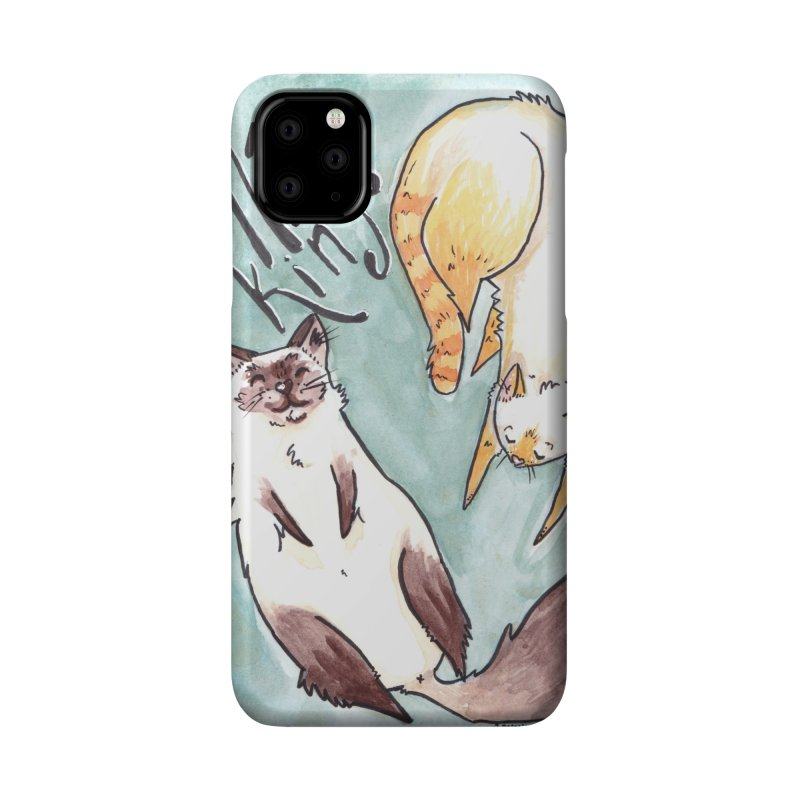 Nap Kings Accessories Phone Case by Toe Beans Cat Cafe Online Shop