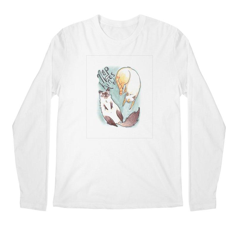 Nap Kings Men's Longsleeve T-Shirt by Toe Beans Cat Cafe Online Shop