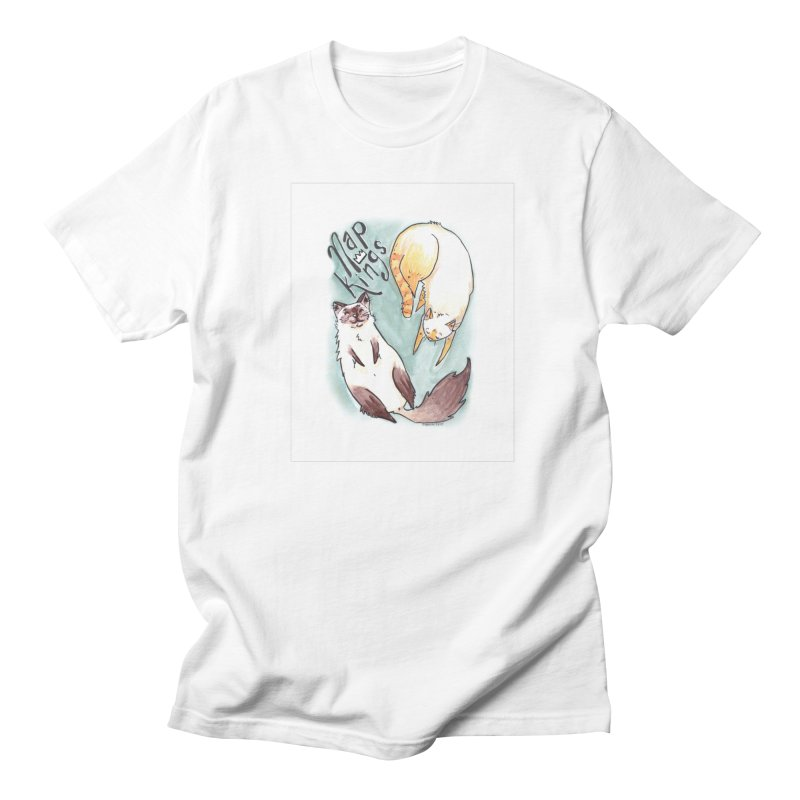 Nap Kings Women's Regular Unisex T-Shirt by Toe Beans Cat Cafe Online Shop