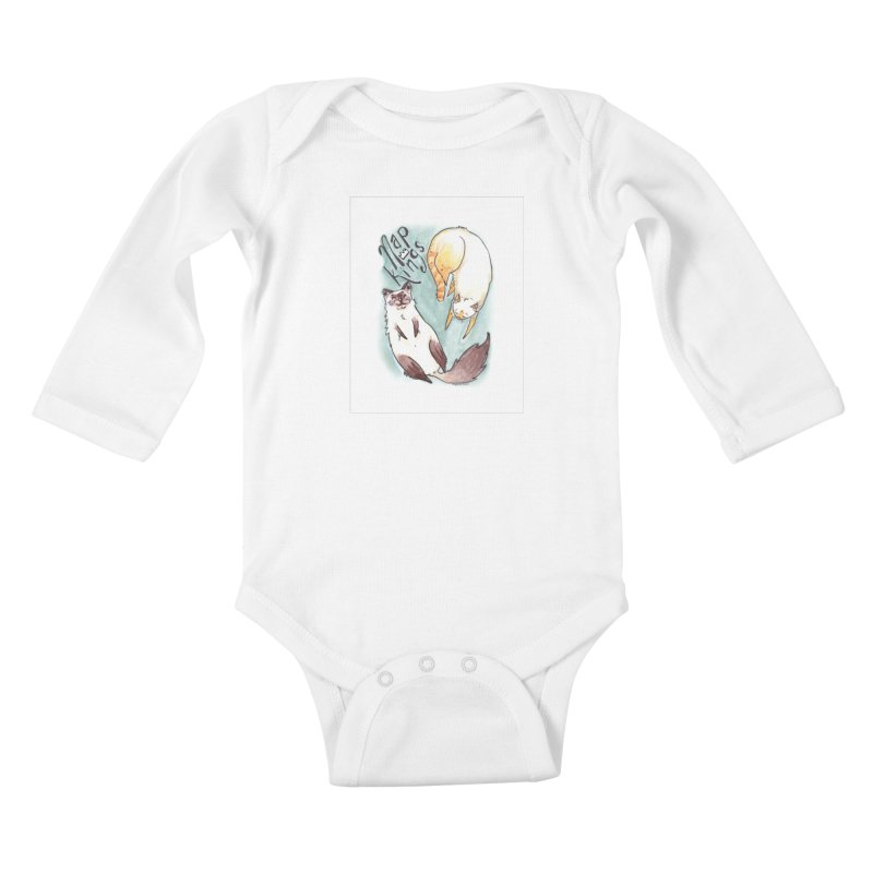 Nap Kings Kids Baby Longsleeve Bodysuit by Toe Beans Cat Cafe Online Shop