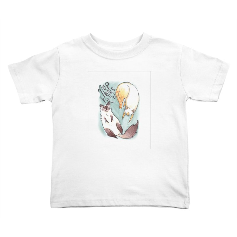 Nap Kings Kids Toddler T-Shirt by Toe Beans Cat Cafe Online Shop